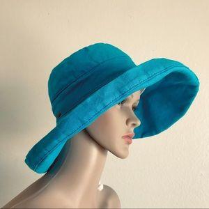 Scala Collezione cotton sun hat, one size
